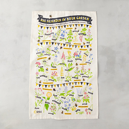 View larger image of Bee Friendly Tea Towel