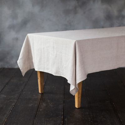 Linen Shimmer Tablecloth