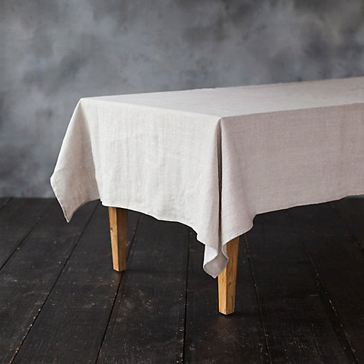 View larger image of Linen Shimmer Tablecloth