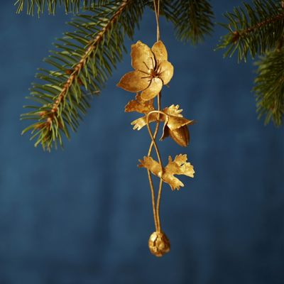 Golden Anemone Ornament