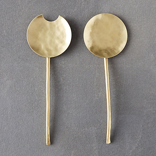 View larger image of Forged Brass Serving Set