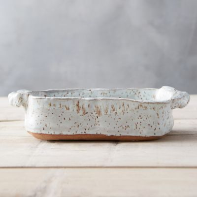 Glazed Earthenware Loaf Pan