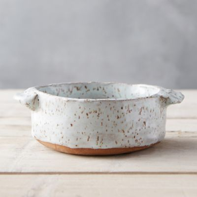 Glazed Earthenware Soup Crock
