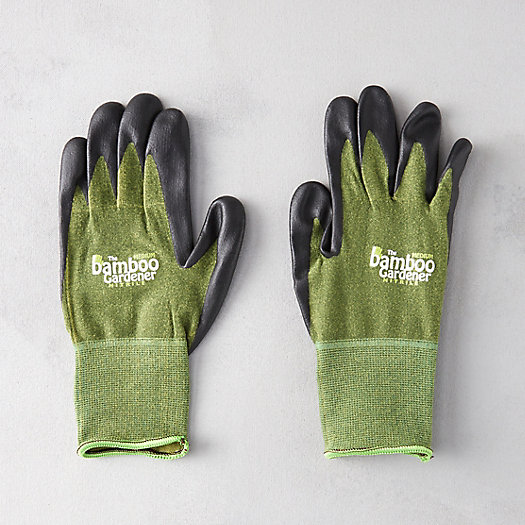 View larger image of Nitrile Palm Bamboo Gloves