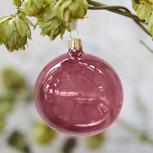 View larger image of Polished Glass Globe Ornament
