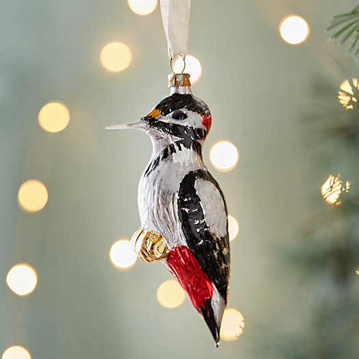 View larger image of Woodpecker Glass Ornament