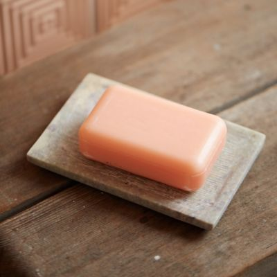 Textured Stone Soap Dish