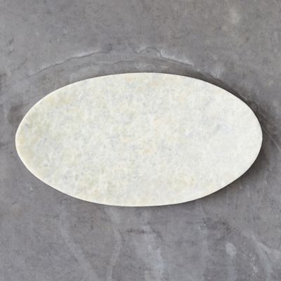 Stone Oval Soap Dish