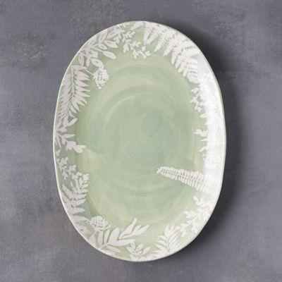 Fern Silhouette Platter