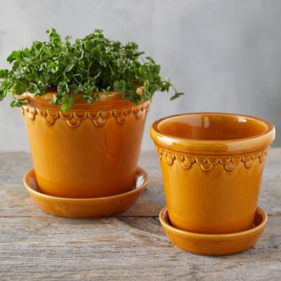 Bergs Glazed Palace Pot