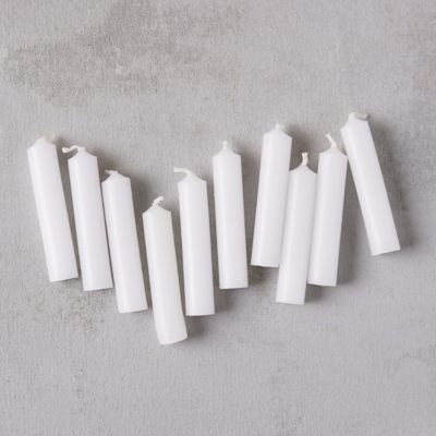 Christmas Candles, Set of 50
