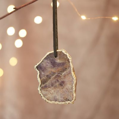 Agate Slice Ornament