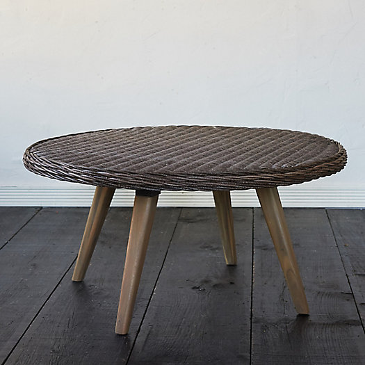 View larger image of Acacia Leg All Weather Wicker Coffee Table