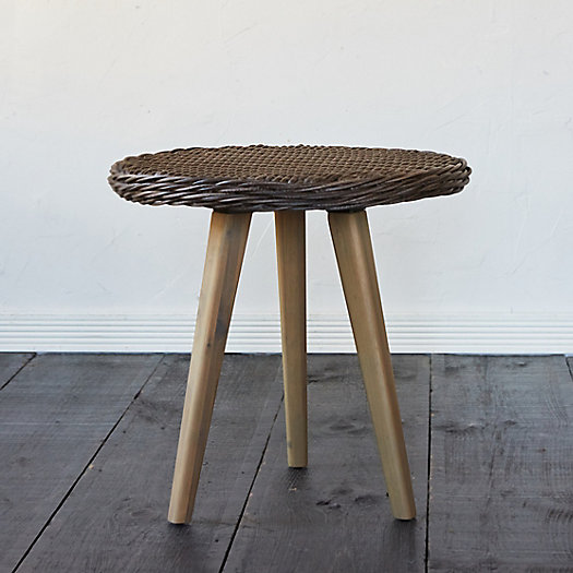 View larger image of Acacia Leg All Weather Wicker End Table