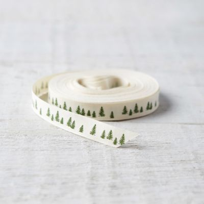Pine Forest Cotton Ribbon