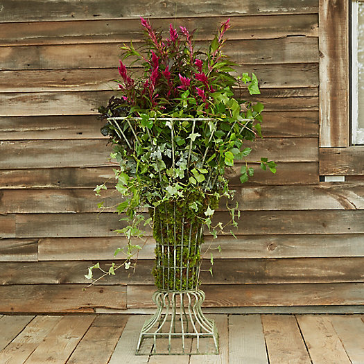 View larger image of Iron Wire Tulip Urn