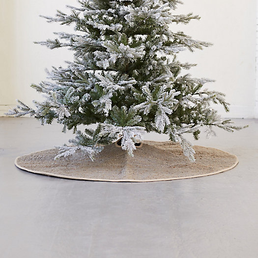 View larger image of Woven Jute Tree Skirt