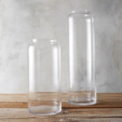 Glass Column Vase