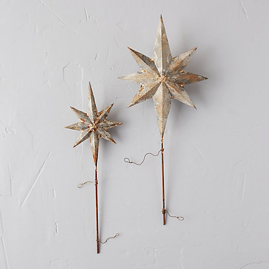 View larger image of Aged Iron Star Tree Topper
