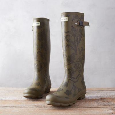 Hunter 'Norris' Printed Field Boot