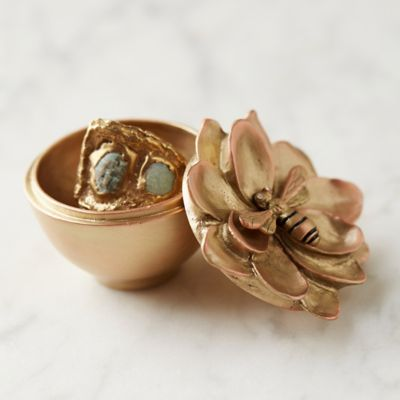 Honey Bee Trinket Box