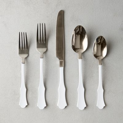 Victorian Handle Flatware Set