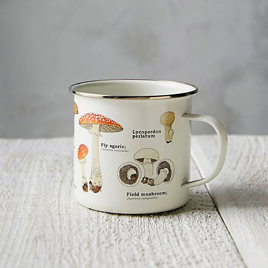 View larger image of Enamel Mushroom Mug