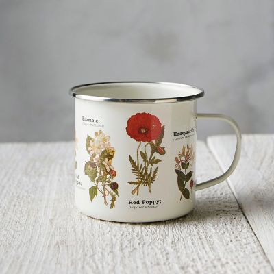 Enamel Wildflower Mug