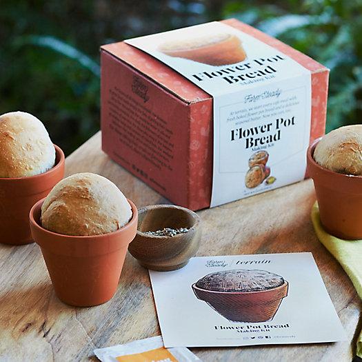 View larger image of Flower Pot Bread Making Kit, Set of 4