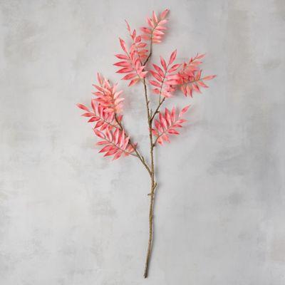Faux Sumac Branch