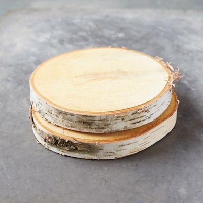 Birch Wood Disc Set