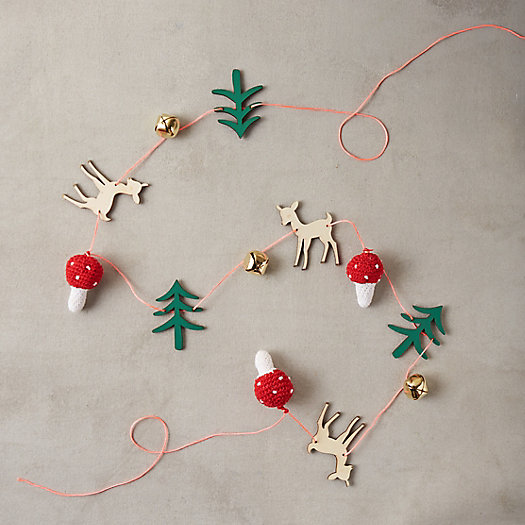 View larger image of Wooden Woodland Garland