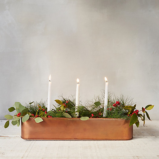 View larger image of Candle Centerpiece Trough