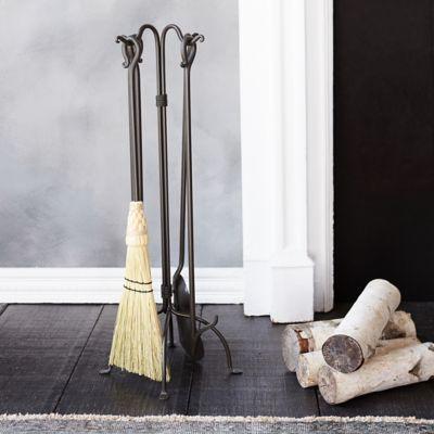 Standing Fireside Tool Set