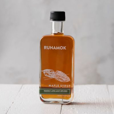 Runamok Makrut Lime Leaf Maple Syrup
