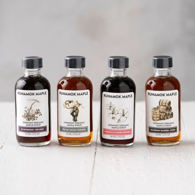Runamok Cheese Pairing Maple Syrup Collection
