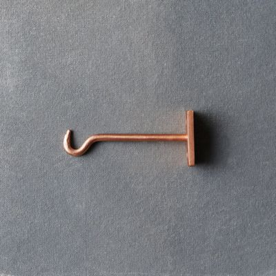 Molded Iron Wall Hook, Small