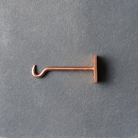 View larger image of Molded Iron Wall Hook, Small