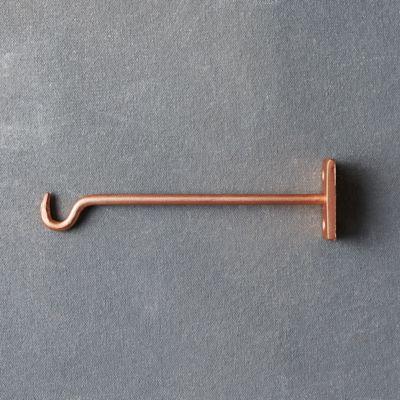 Molded Iron Wall Hook, Large