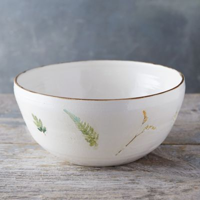 Garden Blooms Ceramic Bowl