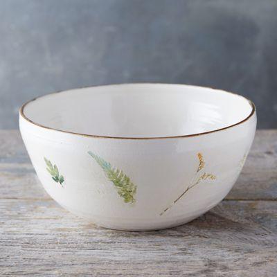 Garden Blooms Ceramic Bowl