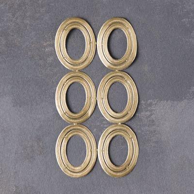 Dresden Foil Circle Frames