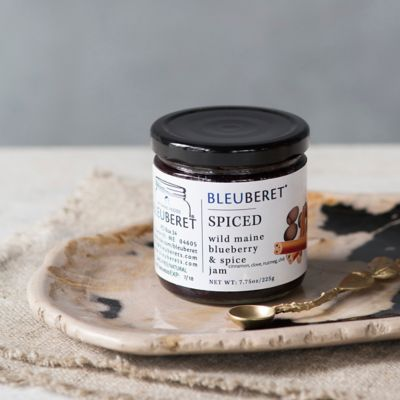 Wild Maine Blueberry & Spice Jam