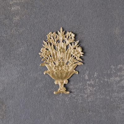 Dresden Foil Vase