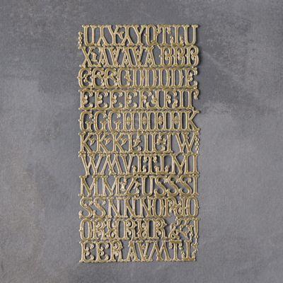 Dresden Foil Letters