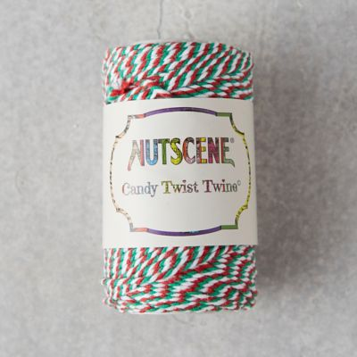 Candy Stripe Cotton Twine