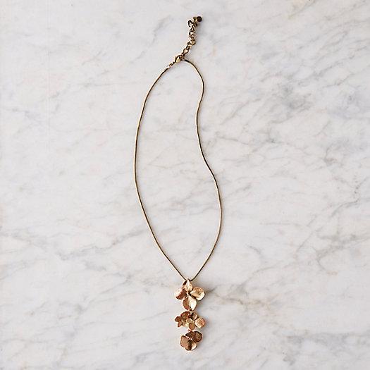 View larger image of Hydrangea Petal Pendant Necklace