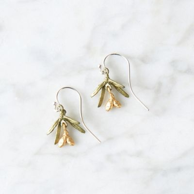 Petite Pine Drop Earrings