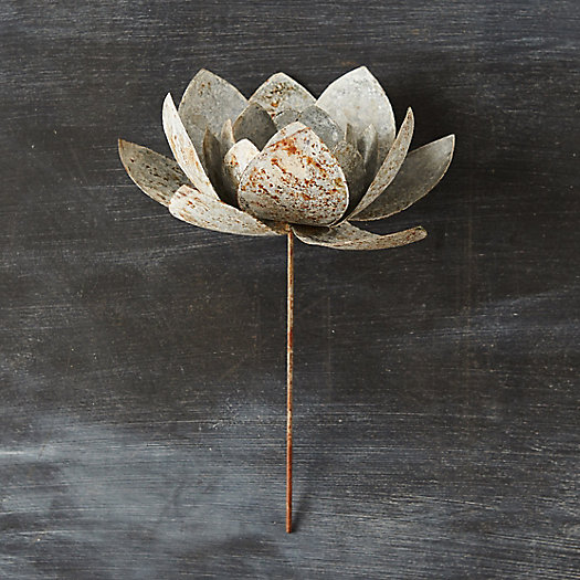 View larger image of Metal Blossom Candle Holder