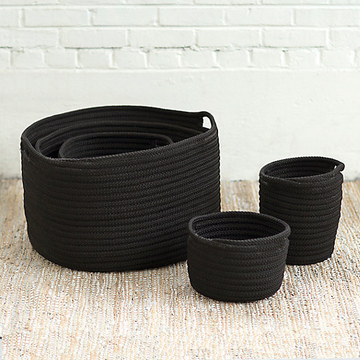 View larger image of Woven Storage Basket